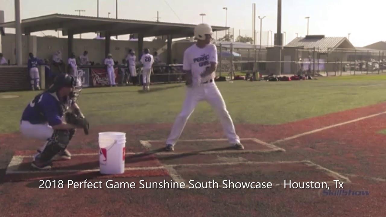 Jared Silva 2018 Perfect Game Sunshine South Showcase