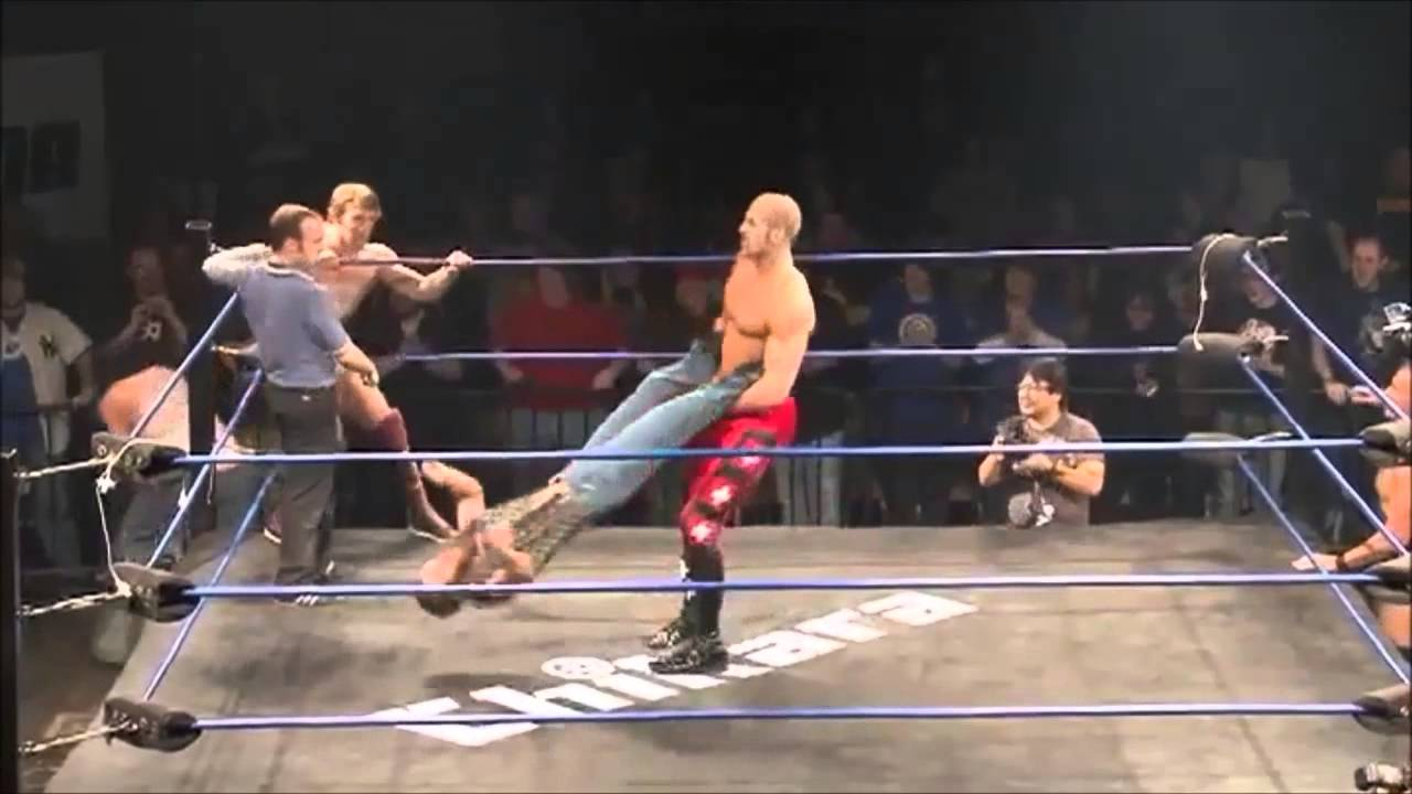 Chikara Antonio Cesaro 100 Rotation Giant Swing Youtube