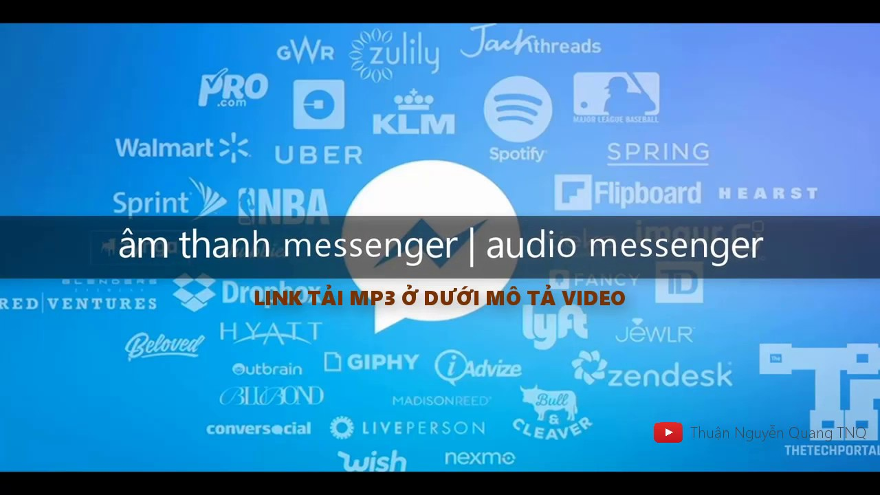 ÂM THANH báo tin nhắn Facebook – âm thanh messenger (download audio messenger) | TNQ