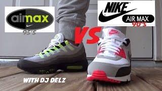 Nike Air Max 90 Infrared VS 95 Volt OG Shoes  PickOne 181d2eea3