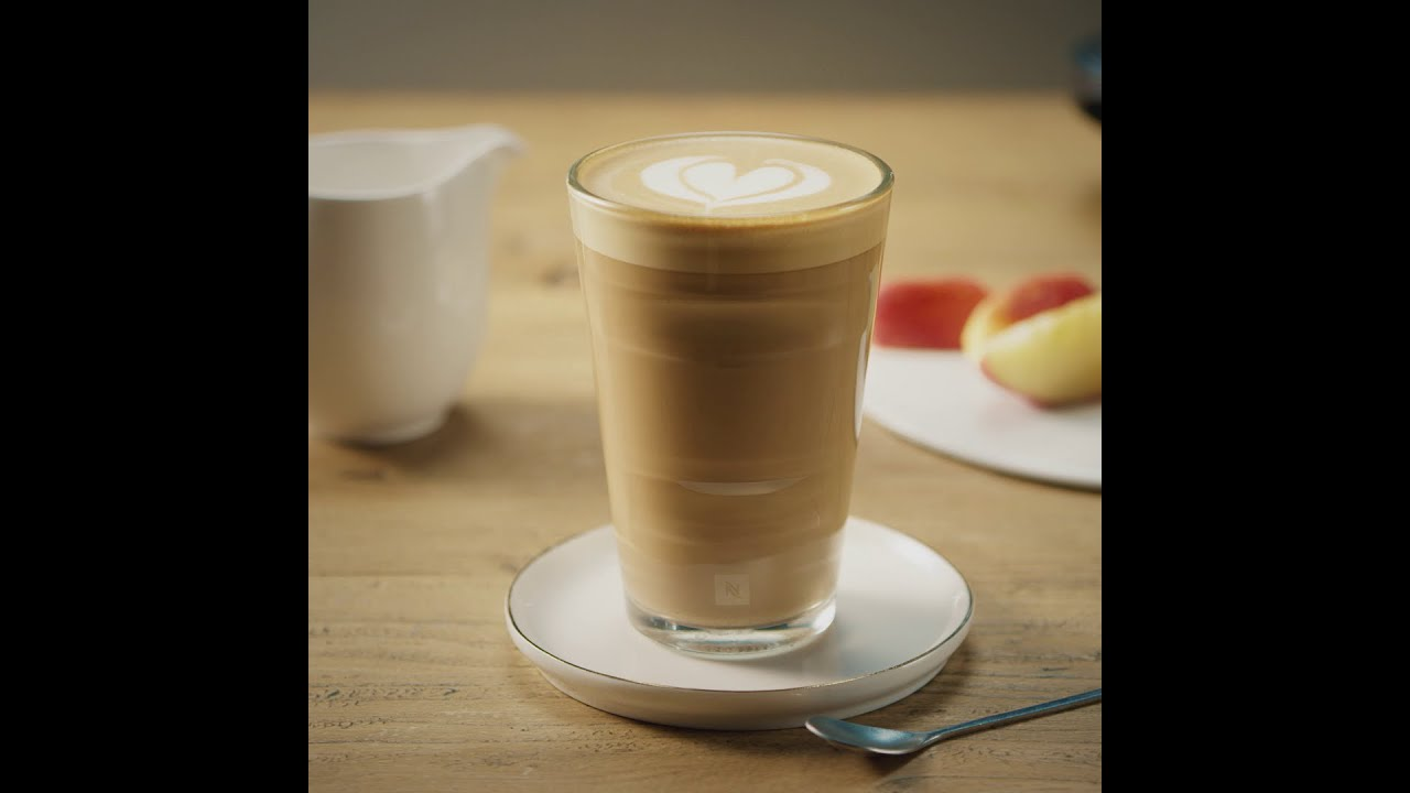 nespresso recipe caff latte youtube