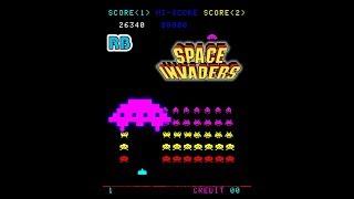 1978 [60fps] Space Invaders 27910pts