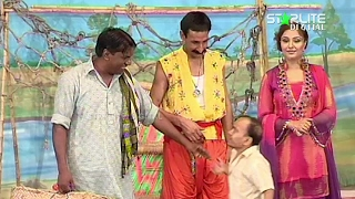 Dil Ki Lagi Iftikhar Thakur, Amanat Chan New Pakistani Stage Drama Full Comedy Funny Play