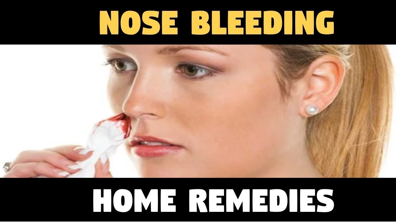 what causes a nosebleed in the right nostril