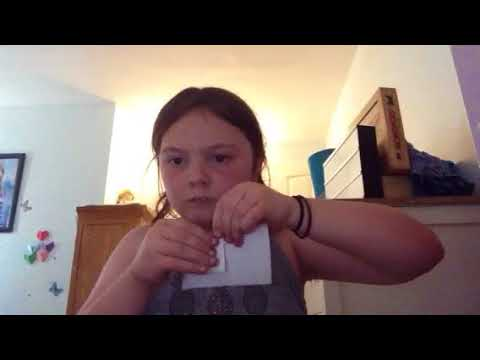 How to make an awesome paper airplane and vampire teeth