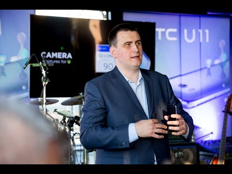 HTC U11 - Marko Savković,Head of Product Marketing for CEE