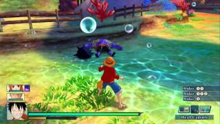 One Piece: Unlimited World Red - Chapter 4 Wii U HD Gameplay