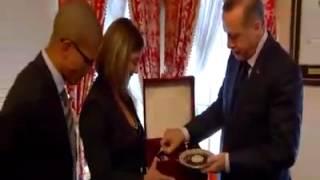 Recep Tayyip Erdoğan ve Alex Buluştu
