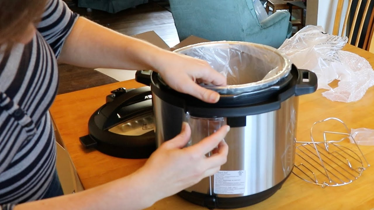 Instant Pot 8qt Duo Unboxing Assembly Ip Duo80 7 In 1 Youtube