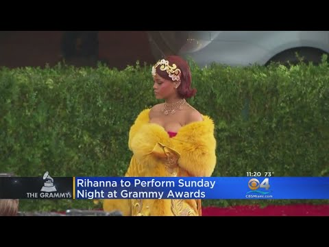 Rihanna Added To List Of Performers At 60th Annual Grammy Awards