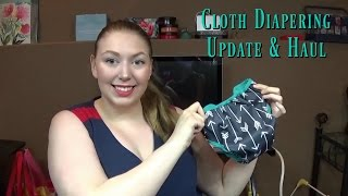 FIRST MONTH OF CLOTH DIAPERING UPDATE & HAUL | 2 IN CLOTH DIAPERS