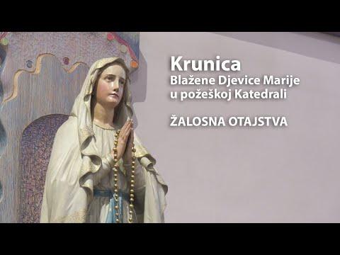 Krunica Blažene Djevice Marije - Žalosna Otajstva