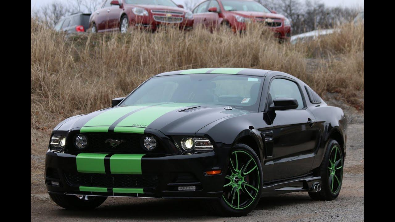 2014 sherrod ssvt mustang gt black green ford of murfreesboro youtube - Ford Mustang Gt Black