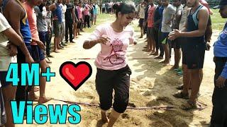 Girls 9 ft Long Jump Asan Tarike Se | Gupta Trainer | Bihar Daroga Physical Training | 7870180478
