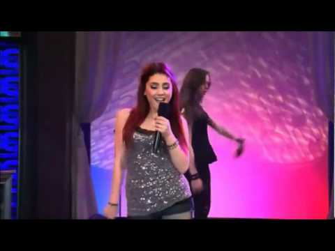 Ariana Grande (Cat Valentine) and Elizabeth Gillies (Jade West) - Give It Up