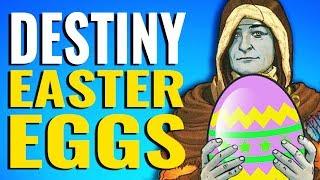 Destiny Easter Eggs