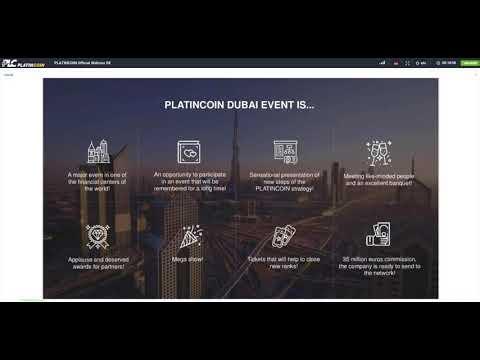 PLC Infos zu Big Event in Dubai von CEO Alex Reinhardt 29.12.2017