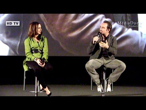"Jean Dujardin - Elsa Zylberstein Toulouse Film ""Un+Une"" Claude Lelouch"