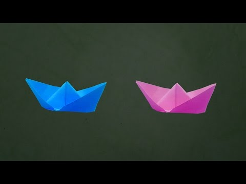 How To Make Simple Paper Boat Easy Steps
