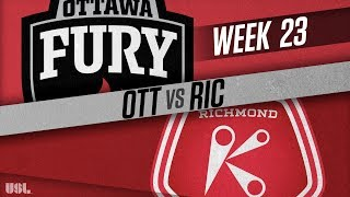 Ottawa Fury FC vs Richmond Kickers: August 15, 2018