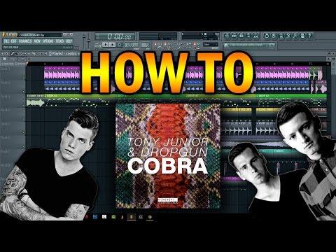 Tony Junior & Dropgun - Cobra [FL STUDIO REMAKE + FLP]