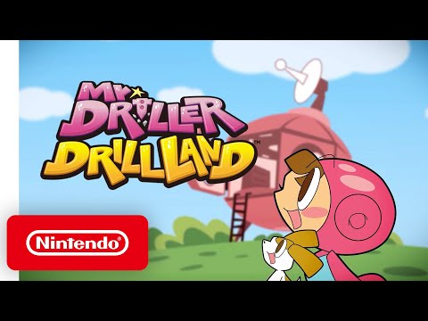 Mr. Driller DrillLand - Launch Trailer - Nintendo Switch