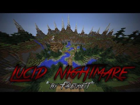 Minecraft | Lucid Nightmare Horror map [PART 1]