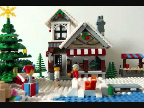 Lego Christmas - A Winter Wonderland! - YouTube