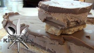 Kit Kat Chocolate Cheesecake Slice - Nicko's Kitchen