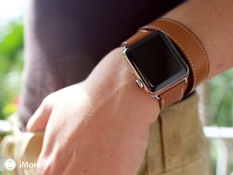 Apple Watch Hermès double tour unboxing and hands-on!