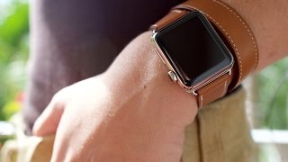 Gambar cover Apple Watch Hermès double tour unboxing and hands-on!