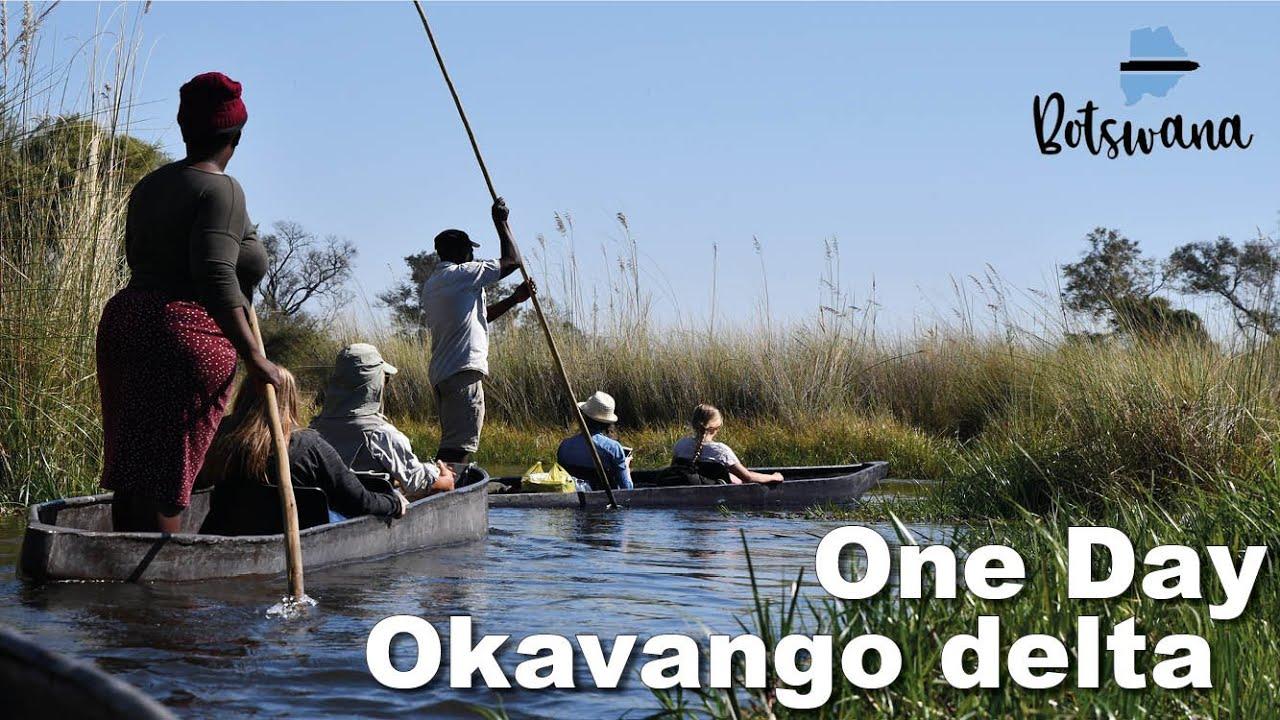 One day on the Okavango delta - Hair Buddha Travel video