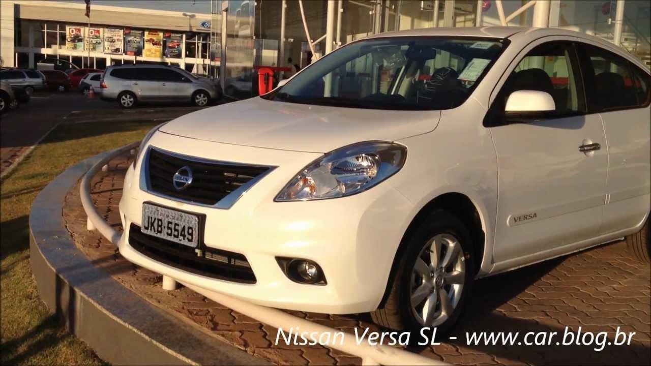 Nissan versa sl 2013