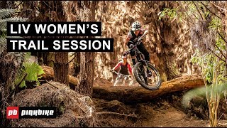 The Liv Women's Trail Session Hits Skyline Rotorua