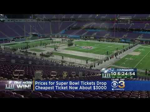 Prices For Super Bowl Tickets Drop