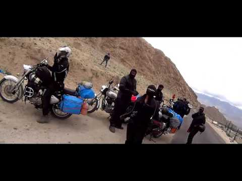 Dream Ride Bangalore To Ladhak BULLET TRIALS July 2015