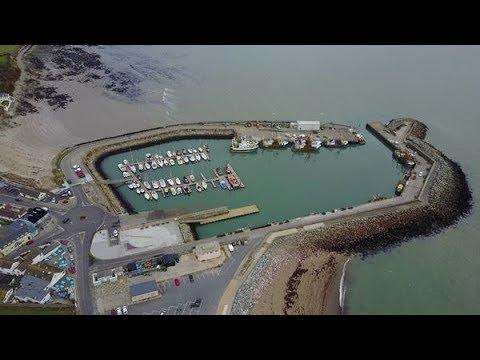 Kilmore Quay  Aerial Fottage,Wexford Ireland