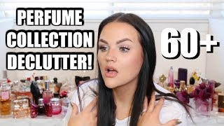 HUGE PERFUME COLLECTION + DECLUTTER!