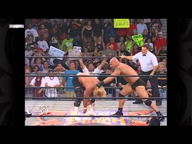 GOLDBERG SPEAR & JACK HAMMER MR.PERFECT AT WCW Travel Video