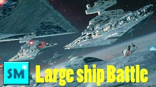 SPACE ENGINEERS - LARGE SHIP BATTLE