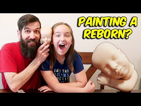 Painting a Reborn Baby with the Help of Stephanie Ortiz nlovewithreborns2011