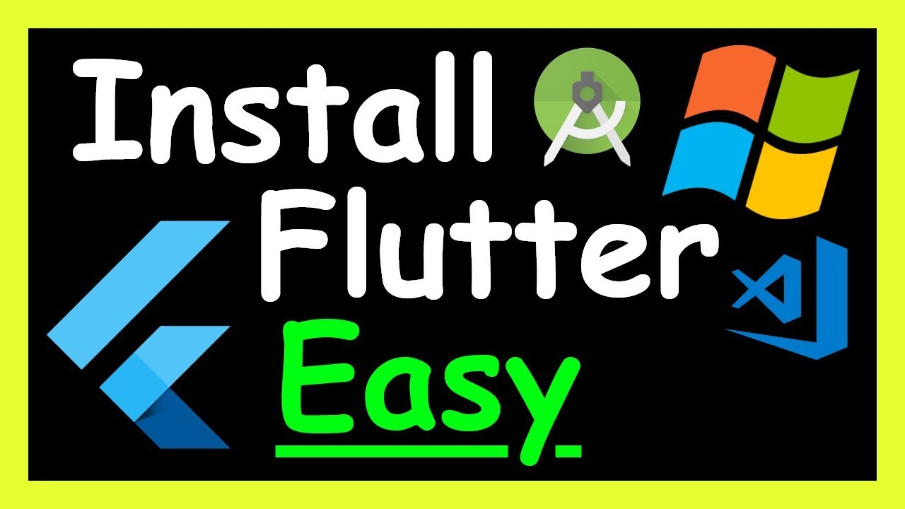 How to install Flutter on Windows 10 on Visual Studio Code