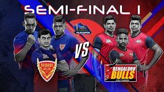 Pro Kabaddi 2019 Semi-Final Highlights | Dabang Delhi vs Bengaluru Bulls