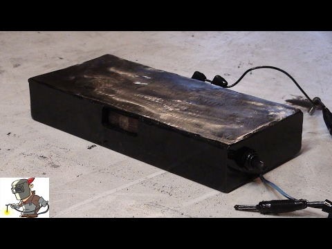 making a electro magnetic chuck from microwave transformer youtube Mag Chuck