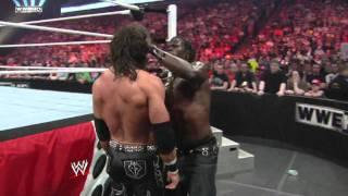 Raw: John Morrison vs. R-Truth