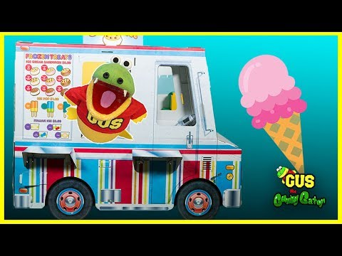 Pretend Play with cooking food truck playhouse!