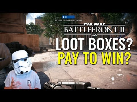Pay To Win? - A Star Wars Battlefront 2 Discussion - With Gameplay