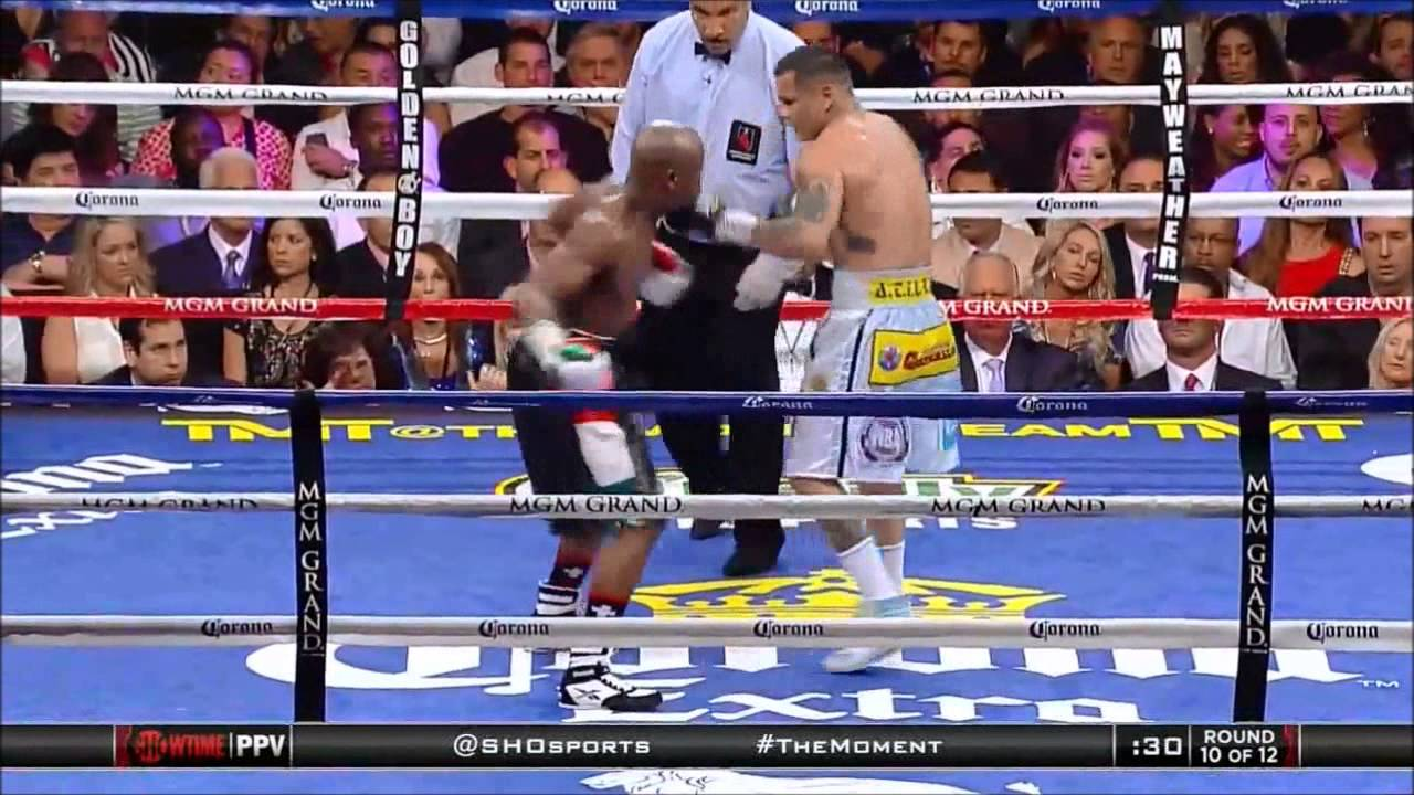 Floyd Mayweather Jr. vs Marcos Maidana - CLEAN PUNCHES - Round 10 ...