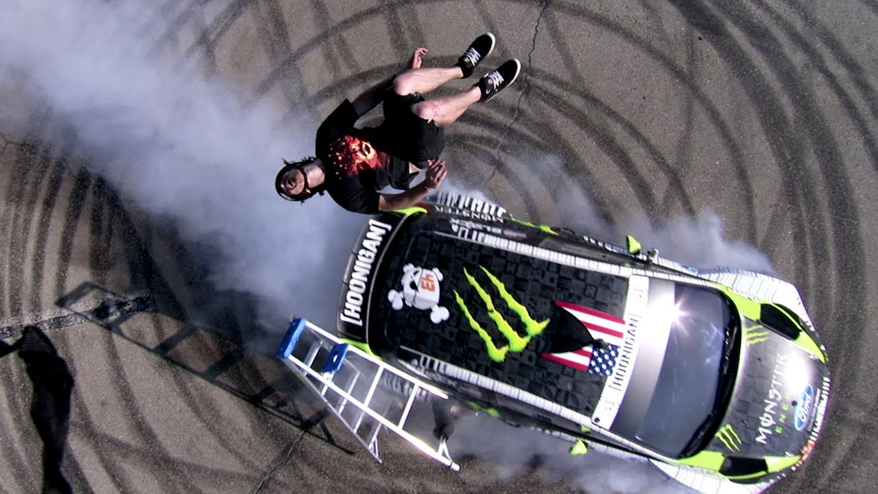 Dc Shoes The Story Behind Ken Block S Ladder Tricks Youtube