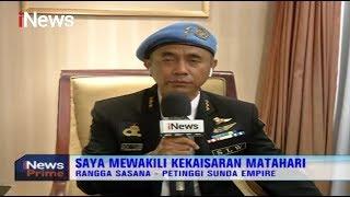 Rangga Sasana, Sekjen Sunda Empire yang Menata Pemerintahan Seluruh Bumi - iNews Prime 21/01
